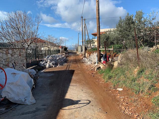 Παραχώρηση ιδιοκτησίας στο Αραχναίο για την διαπλάτυνση δρόμου - Πως ανταπέδωσε ο Δήμος Ναυπλιέων