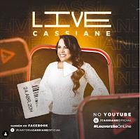 Notícias Gospel - Hoje tem Live da cantora Cassiane