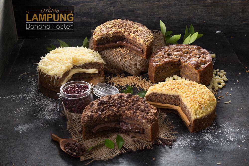 Menu dan Harga Kue di Banana Foster Lampung