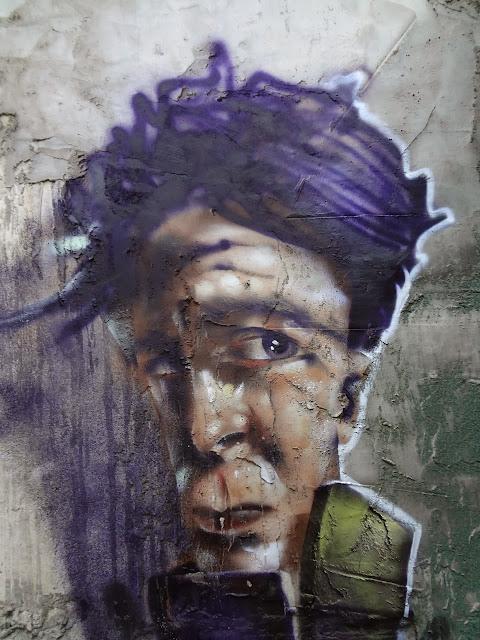Street Art By Israeli Urban Artist Jack TML on the streets of Tel Aviv, Israel. 3
