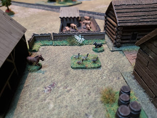 15mm wildlife to add interest to a wargaming table