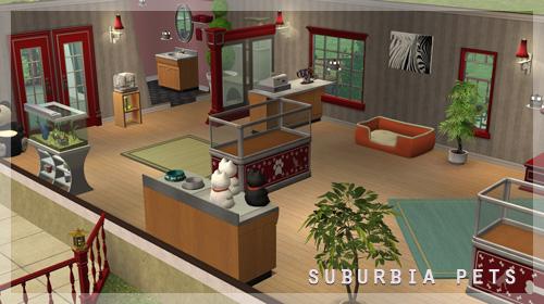 Suburbia Pets interior