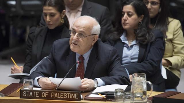"""Palestina asegura a Trump que no cederá a sus """"amenazas"""""""