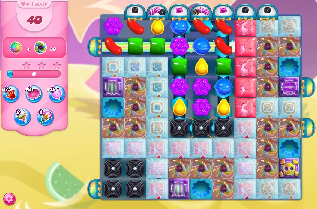 Candy Crush Saga level 9337