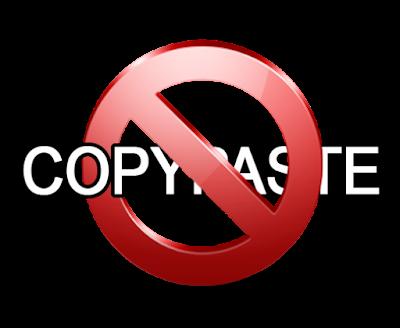 Anti Copy Paste Kecuali Bagian Tertentu di Postingan Blog