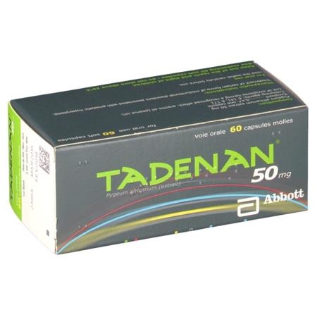 سعر ودواعي استعمال كبسولات تادينان Tadenan للمسالك البولية