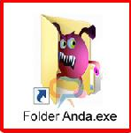 cara menampilkan folder yang terhidden