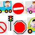 Kids and Transportation Clipart.