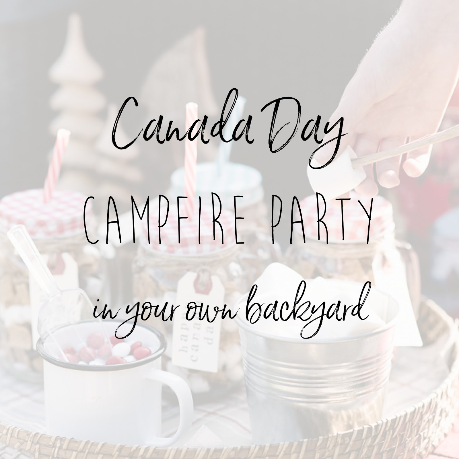 canada day backyard campfire party personally andrea canada day