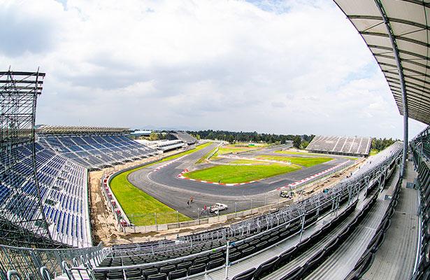 Autodromo Hnos Rodriguez Zonas de boletos en gradas