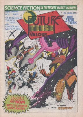 Future Tense and Valour #28, ROM vs the X-Men