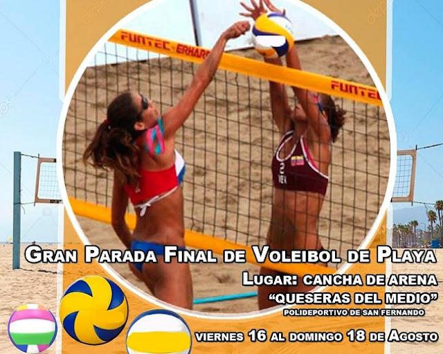 APURE: Vuelve para Apure el Voleibol de Playa.