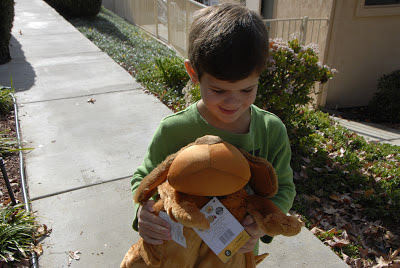 grandson with pet: LadyD Books