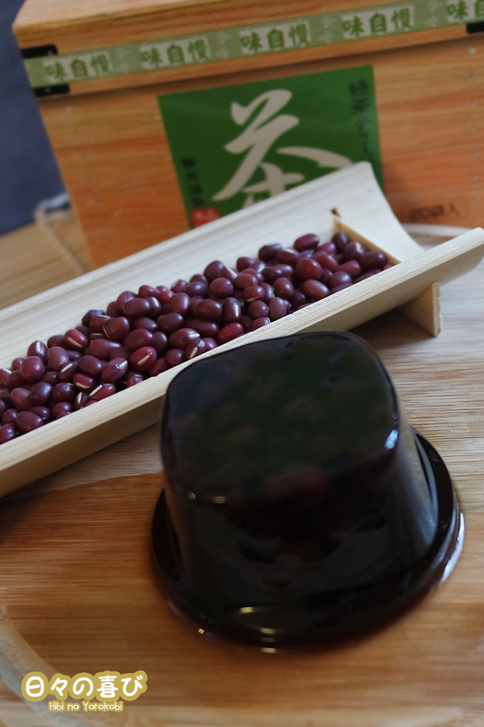 wagashi haricots rouges azuki et agar agar