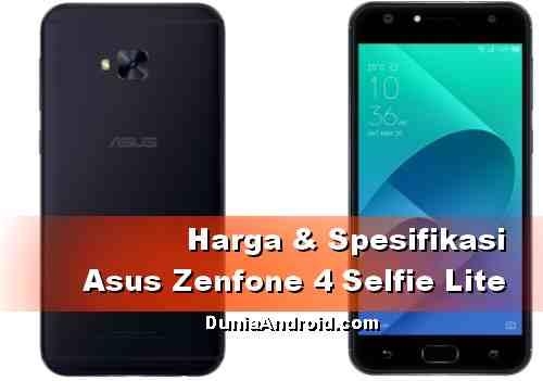 Harga Asus Zenfone 4 Selfie Lite ZB520KL