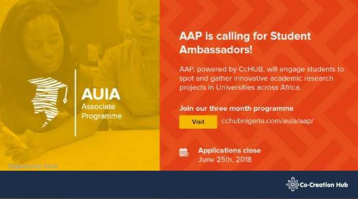 Co-creation-Hub-seeks-AUIA-Associate-Programme-696x387 Co-creation Hub's AUIA Associate Programme (AAP) African Student Ambassadors Program 2018