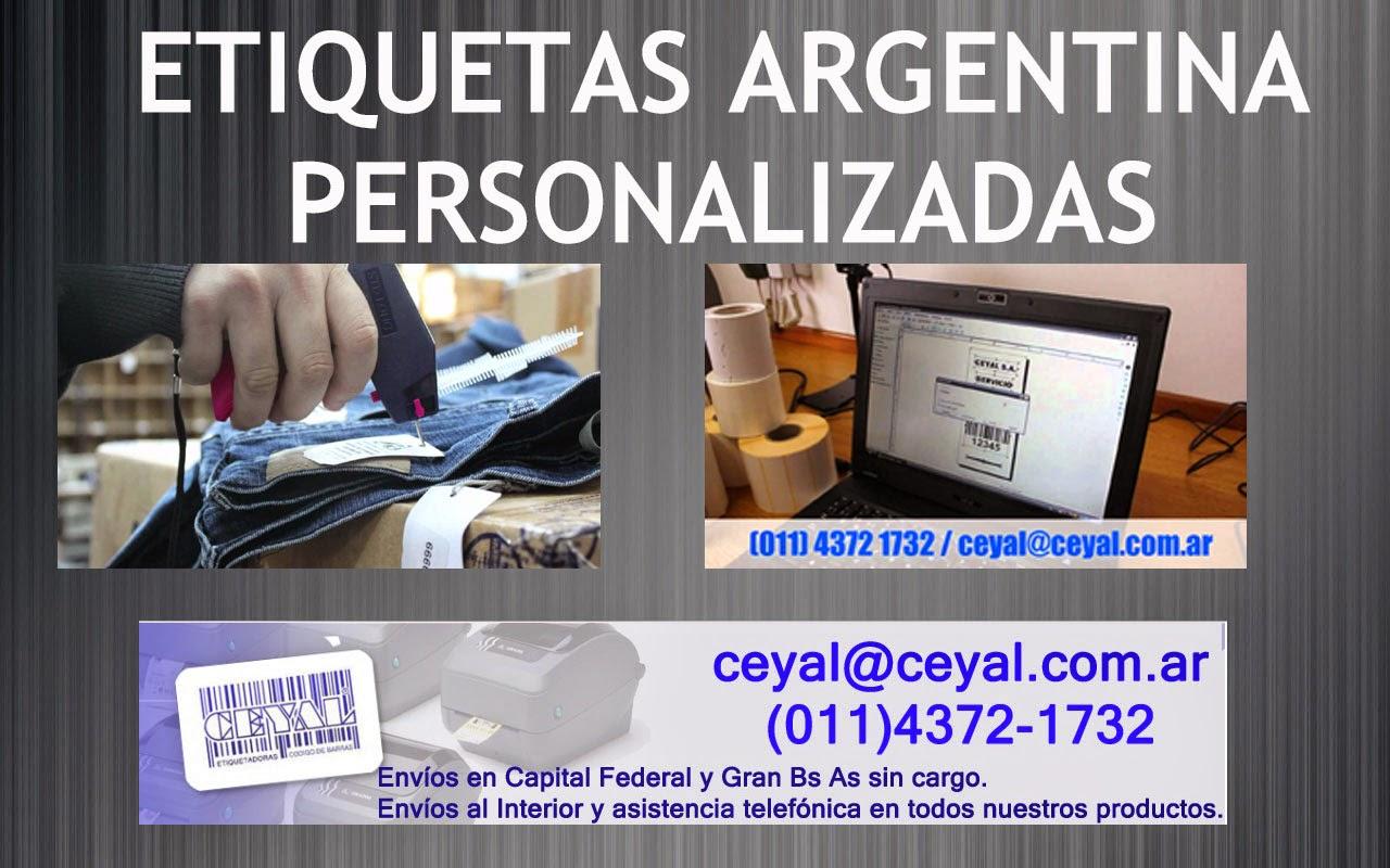 Buenos Aires Servicio impresión etiquetas en rollo Villa Ballester argentina