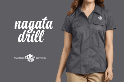 Bahan Bikin Kemeja Bordir Komputer Satuan Yogyakarta Nagata Drill