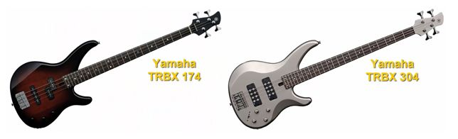 Bajos Eléctricos Yamaha TRBX