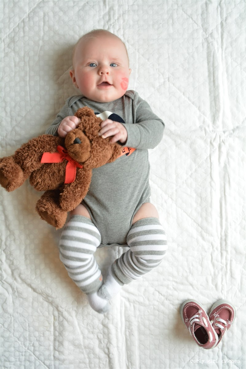 Valentine's Day Baby Boy Photography