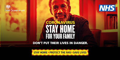Beat the virus by staying at home UK Government