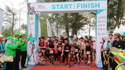 Pariaman International Triathlon 2019 Digelar, Diikuti Ratusan Peserta Dari Berbagai Daerah