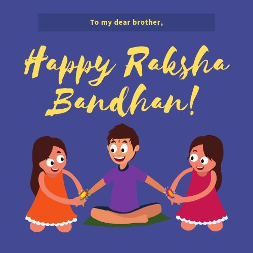Raksha Bandhan Images for Whatsapp for Brother