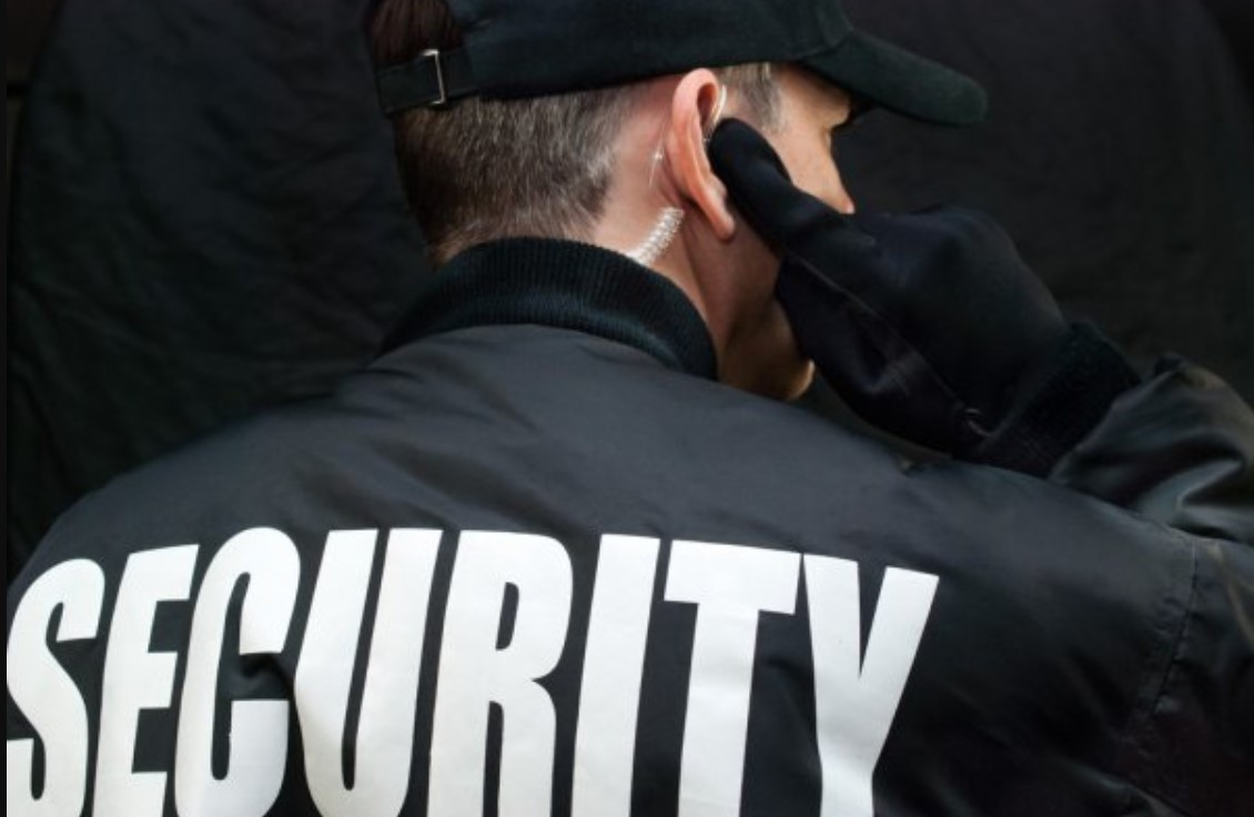 ilustrasi pekerjaan satpam security