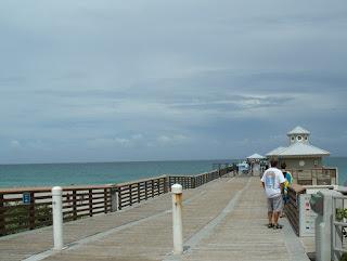 Muelle en Juno Beach