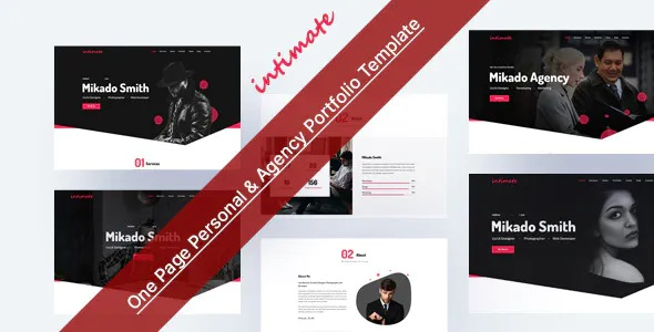Best One Page Personal & Agency Portfolio Template