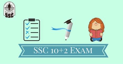 SSC CHSL exam (10+2)