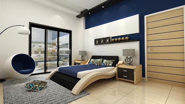 أفكار ديكور جدار رائعة لغرفة النوم 2020