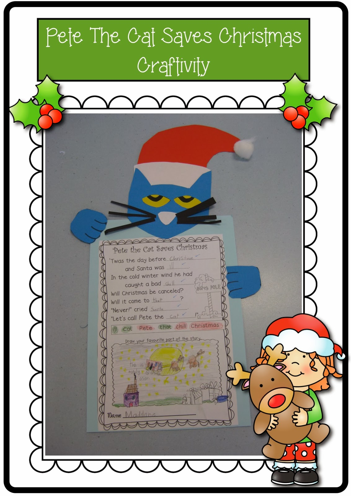 Classroom Fun Christmas Down Under Blog Hop Amp Pete The