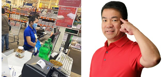 S&R confirms that Senator Koko Pimentel went to their grocery to shop a week before he was tested positive | Pinoy Trend