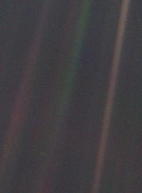 O Pálido Ponto Azul - Voayger 1 - 6 de junho de 1990