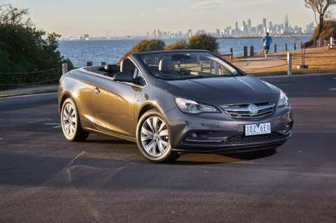 New Holden Cascada goes top down