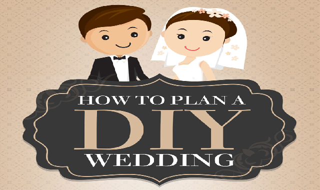How to Plan a DIY Wedding #infographic