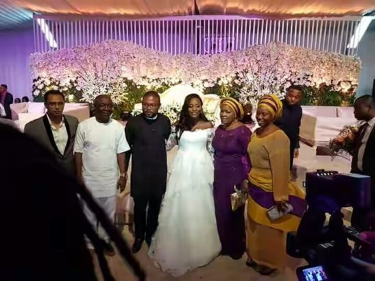 Checkout Pictures From Governor Rauf Aregbesola's Son Wedding In Lagos