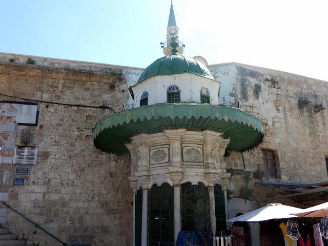 מסגד בעיר העתיקה של עכו