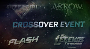 Los cuatro logos de Supergirl, Arrow, The Flash y Legends of Tomorrow