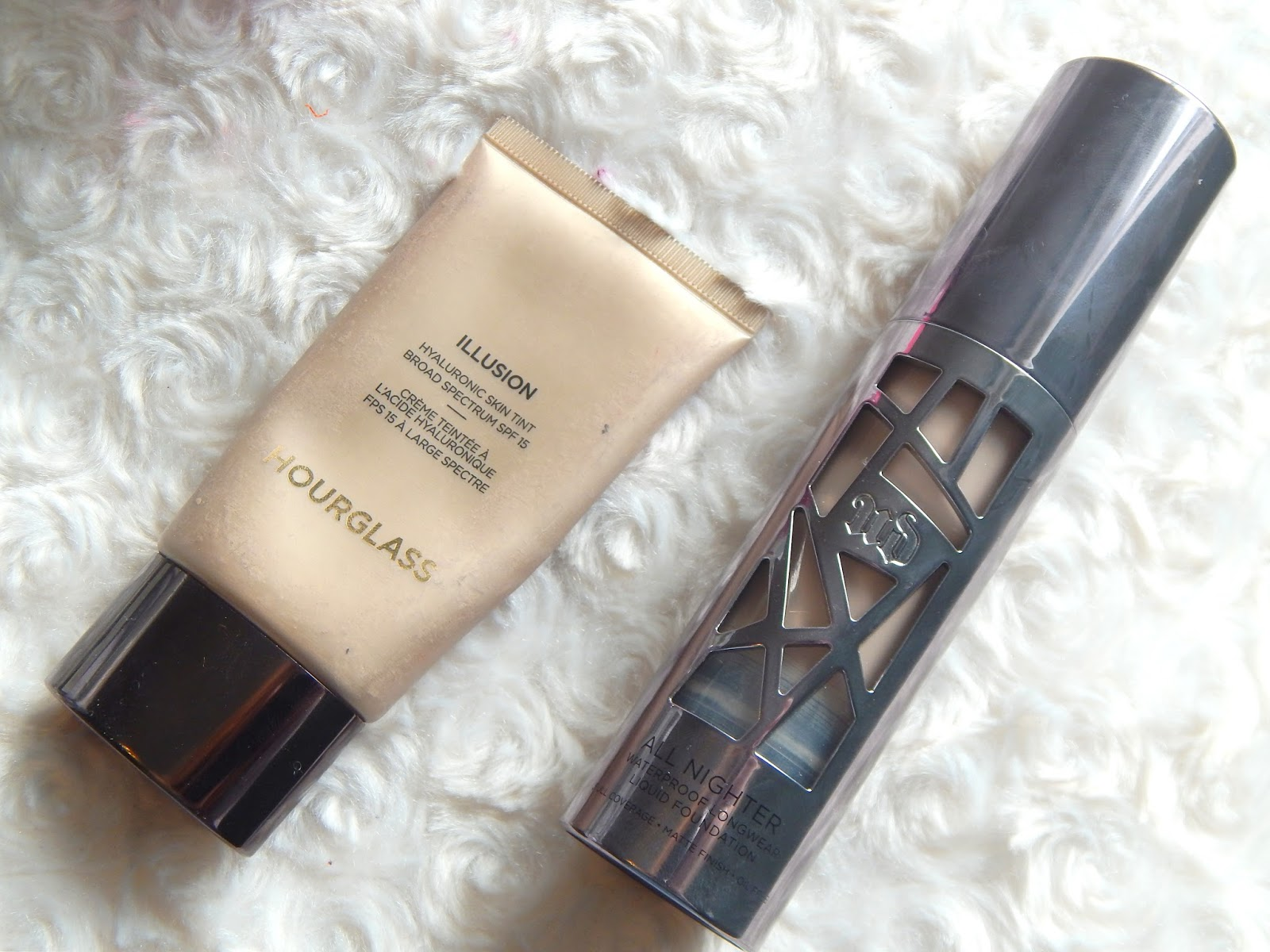 Hourglass Illusion and Urban Decay All Nighter Foundation