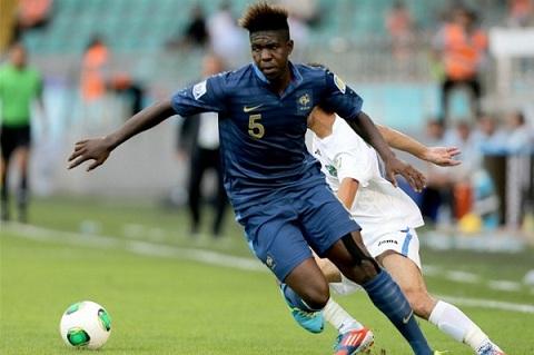 Umtiti là một cầu thủ quan trọng của U20 Pháp tại giải U20 World Cup năm 2013