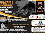 Gabungan Organisasi di Kendari membuka Open Donasi Korban Gempa di Sulbar