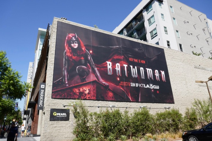 Batwoman Arrowverse series billboard