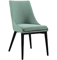 Viscount Fabric living room side chair