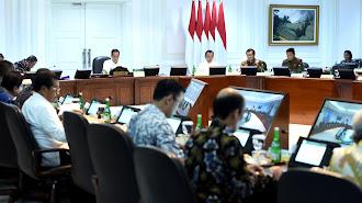 Berikut Isi Pidato Lengkap Jokowi Dalam Penanganan Arus Masuk WNI  dan Pembatasan Perlintasan WNA