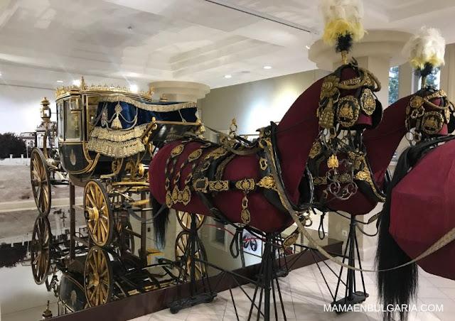 Carruaje del rey Fernando Museo de Historia Regional de Sofía