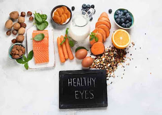 Vitamins for better eyes.