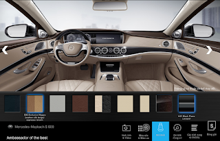 Nội thất Mercedes Maybach S600 2017 màu Vàng Silk / Nâu Espresso (505)