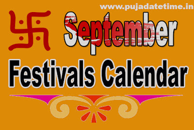 September Festivals Calendar,